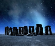 Stonehenge at Night Digitally Printed Roller Blind