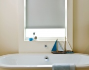 Uniview Zero Glacier Grey blackout roller blind